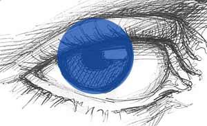 Как нарисовать глаз карандашом