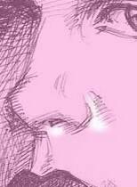 нарисованный нос карандашом
